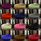 1 PC Round Bed Fitted Sheet 1000 Count Egyptian Cotton All Size Solid Colors image