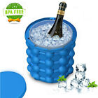 Magic ICE CUBE Maker Bucket Silicone Genie Revolutionary Kitchen Tool Space NEW photo