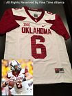 Cleveland Browns Baker Mayfield Oklahoma Sooners 47 Straight Alternate Jersey