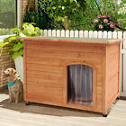 Insulated Large Dog Kennel Puppy House Wooden With Removable Floor Easy Clean UK