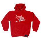 Scuba Diving Hoodie Hoody Funny Novelty hooded Top - Shark Diver New