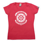 Sailing Tops T-Shirt Funny Novelty Womens tee TShirt - Real Boaters Dont Need
