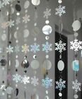Home Curtain Snowflakes Shiny Laser Pvc Glitter For Christmas Decoration New