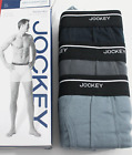 Jockey Cotton Slim Fit Stay Dry Low Rise Boxer Brief 3 Pack XLarge