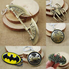 Внешний вид - Marvel Super Hero Batman Spiderman Avenger Keychain Bag Hanging Key Chain Ring