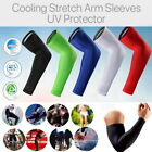 2 X Compression Elbow Support Thigh Arm Sleeve Brace Anti UV for Basketball ICE