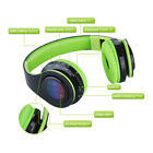 Foldable LED Bluetooth Wireless Headphones Stereo Earphone Headset FM Kids Gift