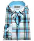 VENTI HERREN SLIM FIT FREIZEIT LANGARMHEMD ButtonDown Gr. XL XXL FRESH KARO