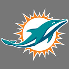 Miami Dolphins NFL Car Truck Window Decal Sticker Football Laptop Bumper $2.75 USD on eBay