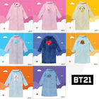 BTS BT21 Official Authentic Goods Winter Pajamas Flannel Night Dress +Track Num