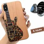 iProductsUS Unique Phone Case Compatible with iPhone XS/X & Magnetic Mount-Wood