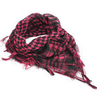 Mens Womens Scarf Shawl Tartan Wrap Neck Cover Stole Tactical Army Militar Style