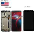FOR Alcatel 7 6062W metroPCS/ Revvl 2 Plus LCD DISPLAY+TOUCH SCREEN+(FRAME) US