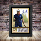 Ian Poulter 2 Golf Framed Poster Autographed Print A1 A2 A3 A4 2018