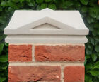 Victorian Style Cast Stone Pier Cap Two Sizes Available