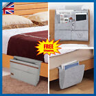 Bedside Storage Bed Organizer Felt Pocket Caddy Desk Sofa Bag TV Remote Holder