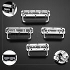 Chest Door Pull Handle Toolbox Crates Storage Box Cabinet Drawer Puller Silver
