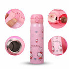 Hello Kitty Stainless Steel Travel Mug Water Bottle Thermos Vacuum Flask Cup