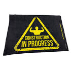 Gym Sweat Microfiber Sports Towel Bodybuilding Funny - Construction In Progress