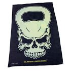 Gym Sweat Microfiber Sports Towel Bodybuilding Funny - Kettlebell Skull