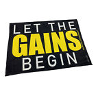 Gym Sweat Microfiber Sports Towel Bodybuilding Funny - Let The Gains Begin