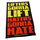 Gym Sweat Microfiber Sports Towel Bodybuilding Funny Lifters Gonna Lift Haters G