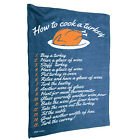 Kitchen Cooking Tea Towels - How To Cook A Turkey Christmas - Cooking Cleaning