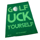 Golf Microfiber Sports Towel Funny Novelty Sweat Rag - Golf Uck Yourself