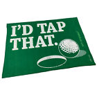 Golf Microfiber Sports Towel Funny Novelty Sweat Rag - Id Tap That