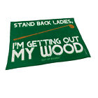 Golf Microfiber Sports Towel Funny Novelty Sweat Rag Stand Back Ladies Im Gettin
