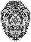 Security Enforcement Officer Decal/sticker Security Officer Guard