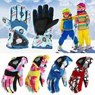 Внешний вид - Kids Children Winter Gloves Thermal Wind Waterproof Ski Warm Snow Sports Mittens