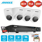 ANNKE HD 5MP NVR 8CH POE Überwachungskamera CCTV 3MP Kameras IR-Cut Smart Search