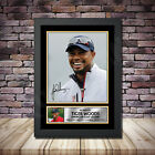 Tiger Woods Golf Champ Signed Framed Poster Autographed Print - A1 A2 A3 A4 - B1
