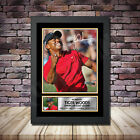 Tiger Woods Golf Champ Signed Framed Poster Autographed Print - A1 A2 A3 A4 - B3