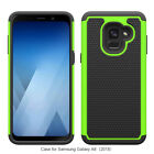 Fits Samsung Galaxy A8 2018 Case Shockproof Rugged Rubber Impact Hybrid Armor