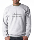 Oneliner crewneck SWEATSHIRTI'm Allergic To Stupidity I Break Out In Sarcasm