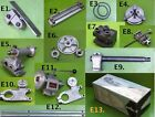Внешний вид - Emco Unimat HeadStock TailStock Chucks Bed Toolpost Cross Slide Watchmaker LOT