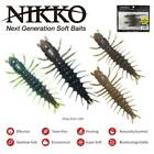 "Внешний вид - NEW Nikko ZaZa 3"" HELLGRAMMITE floating, scented, durable soft bait"