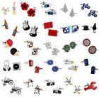 51 Styles Wedding Business Party Novelty men's fun cufflinks gift National Flag