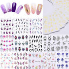 Fiore Water Decal Lot Nail Art Adesivo per Unghie Dreamcatcher Design Decoration