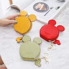 MICKEY MOUSE Card Holder Badge Wallet Purse card holder key chain money bag gift image