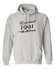 Limited Edition Made In 1991 Birthday Gildan Pullover Hooded Hoodie Sweatshirt