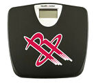 BLACK BATHROOM DIGITAL SCALE VARIOUS SPORTS TEAM LOGO THEMED WEIGHT POUNDS LBS