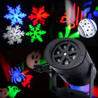 Outdoor Snowflake LED Moving Laser Light Projector Xmas Party Garden Decor Lamp
