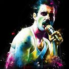 FREDDIE MERCURY THE SHOW MUST GO ON BY PATRICE MURCIANO KEYRINGS-MUGS-ART PRINTS