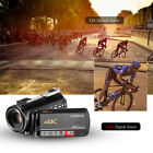 4K UHD 24MP Digital Video Camera Recorder DV 12X Zoom + 0.39X Lens + Mic T5N3