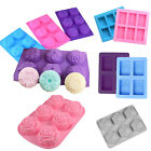 Внешний вид - 6-Cavity Rectangle Soap Mold Silicone Baking Mould Tray For Homemade Craft DIY