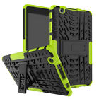 """For LG G PAD 3 X 8.0"""" Rugged Shockproof Hard Tire Tread Case Stand Cover  B N"""