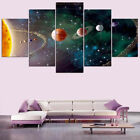 Solar System Planets Order From The Sun 5 Piece Canvas Print Wall Art